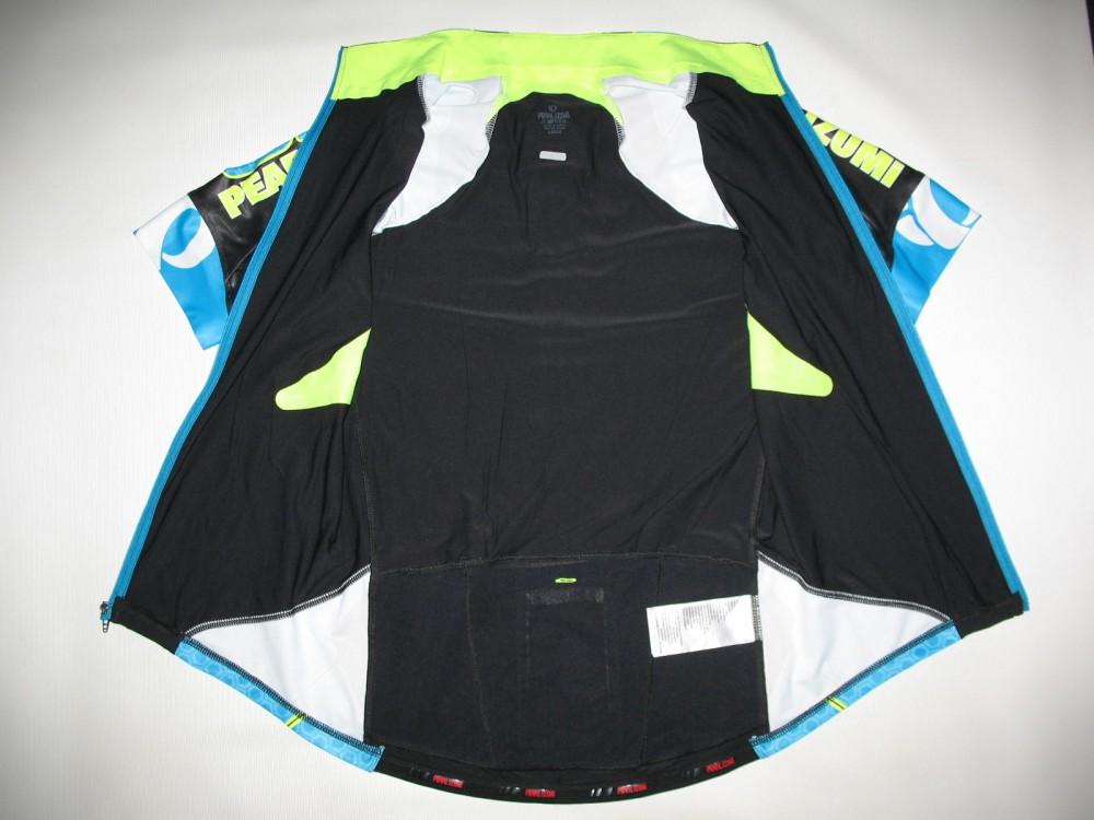 Веломайка PEARL IZUMI p.r.o. leader short sleeve jersey (размер L) - 10