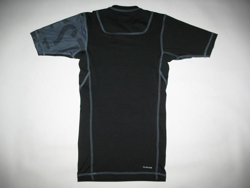 Футболка REEBOK compression playice jersey (размер S) - 1