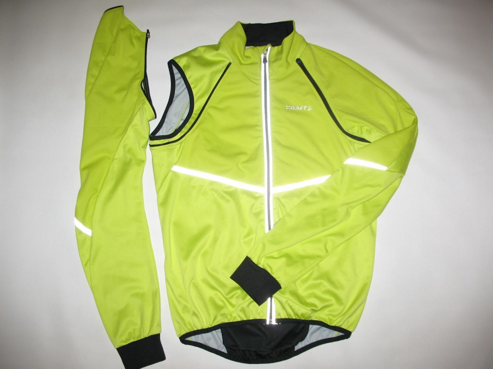 Велокуртка CRAFT adapt storm 2in1 cycling jacket (размер M) - 6