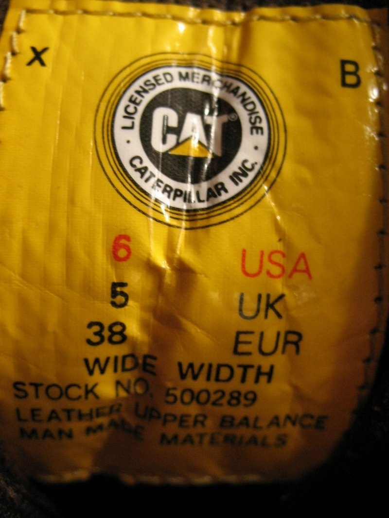 Ботинки CAT techni flex boots (размер UK6/US5/EU38(на стопу до 240mm)) - 12