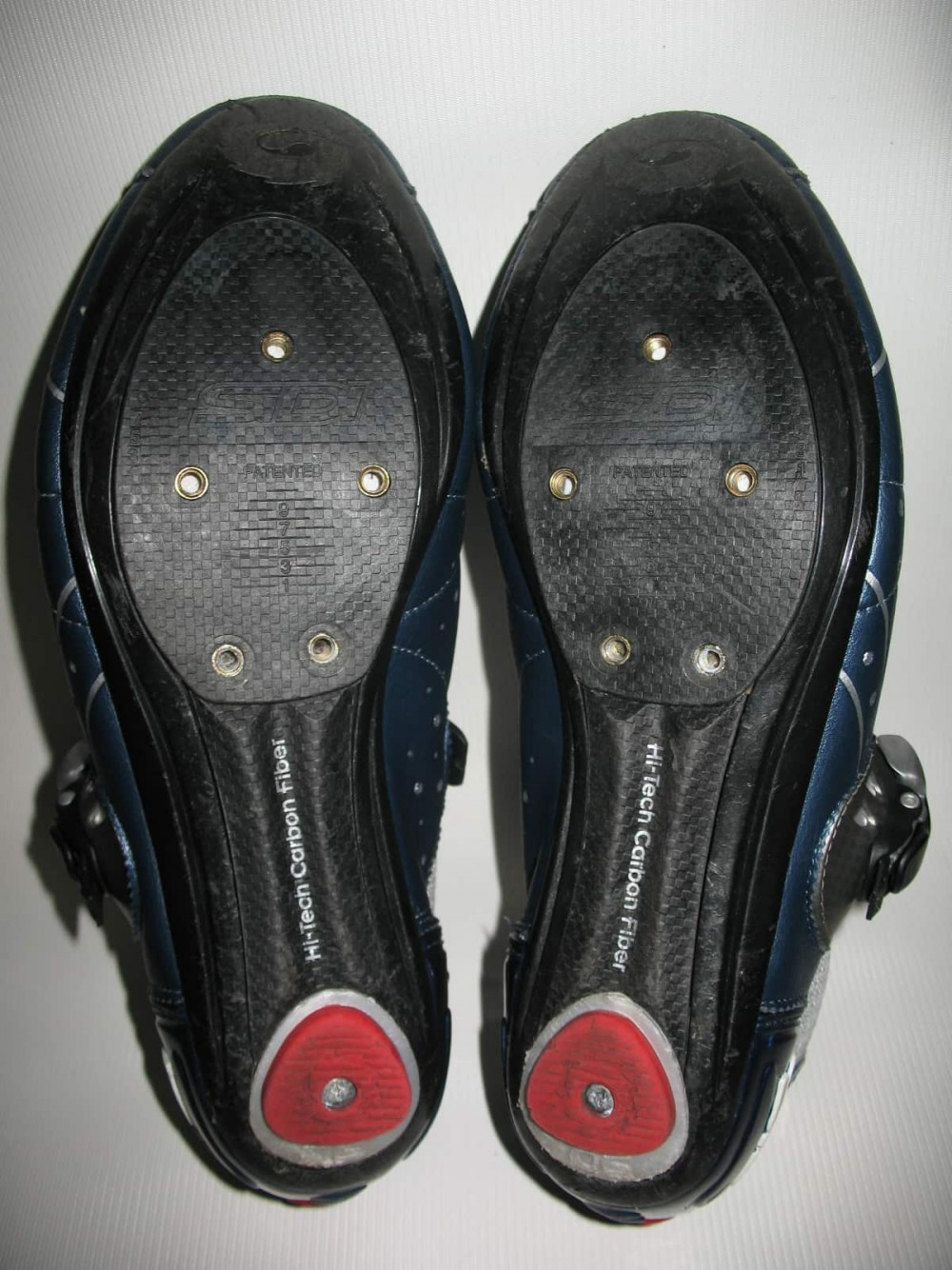 Велотуфли SIDI genius 5.5 carbon road shoes (размер EU42,5(на стопу 265mm)) - 5