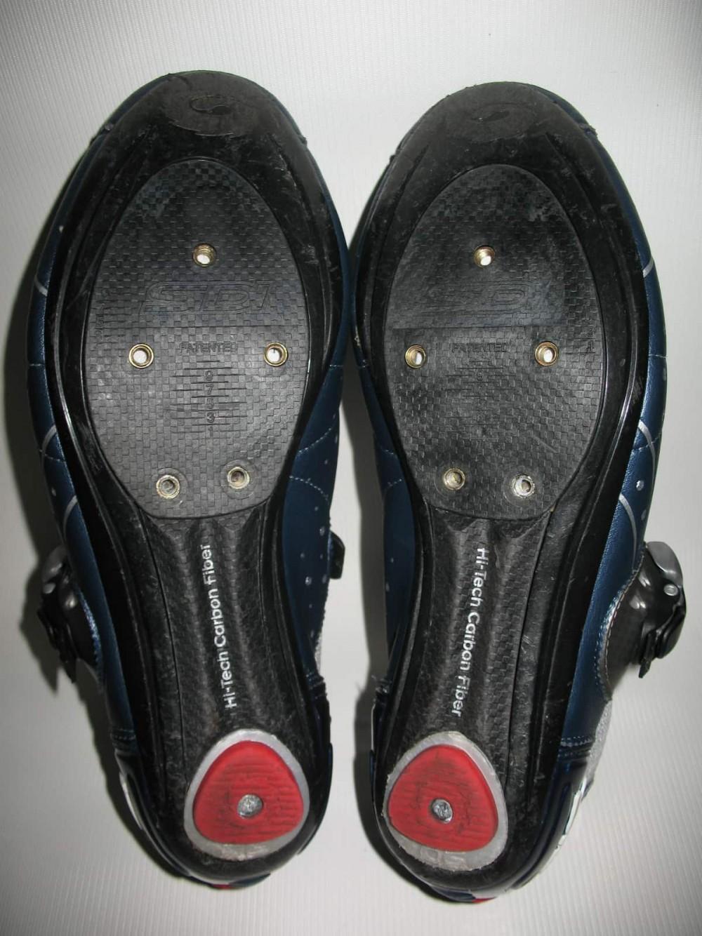 Велотуфли SIDI genius 5.5 carbon road shoes (размер EU42,5(на стопу 265mm)) - 5
