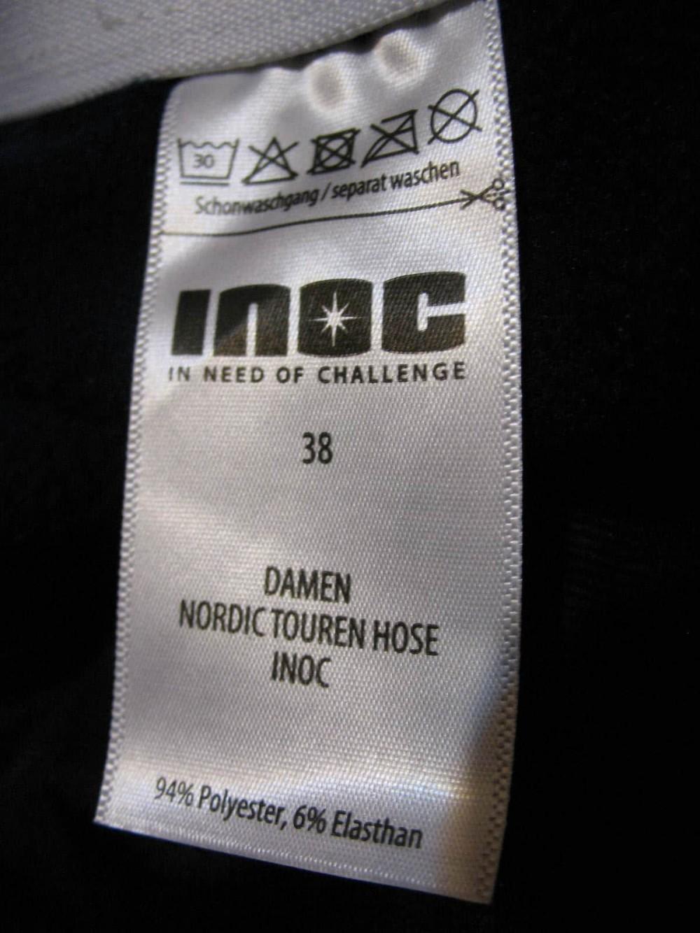Штаны INOC nordic touren pants lady (размер 38-M/S) - 5