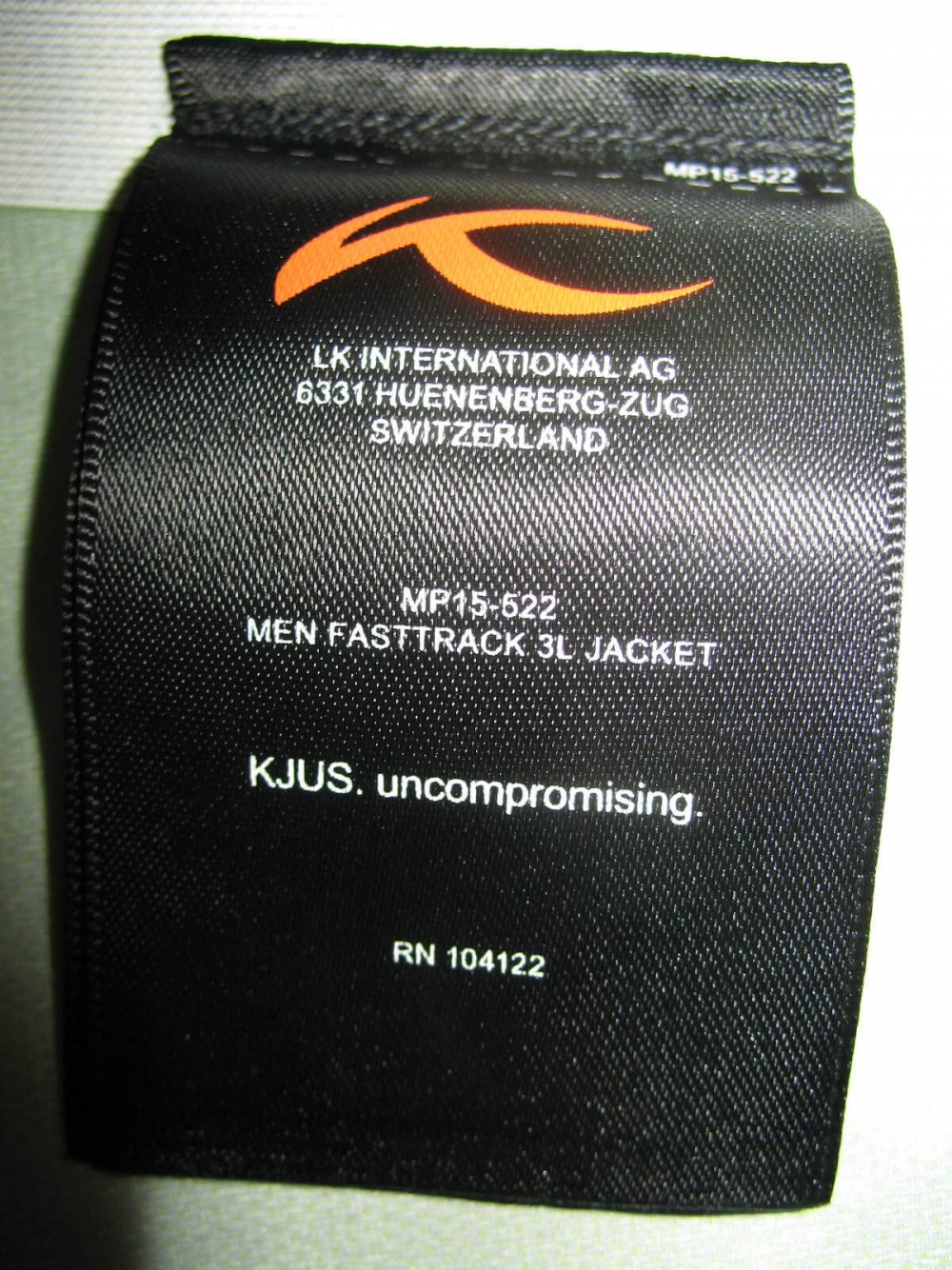 Куртка KJUS fasttrack 3L jacket (размер 56/XXL) - 8
