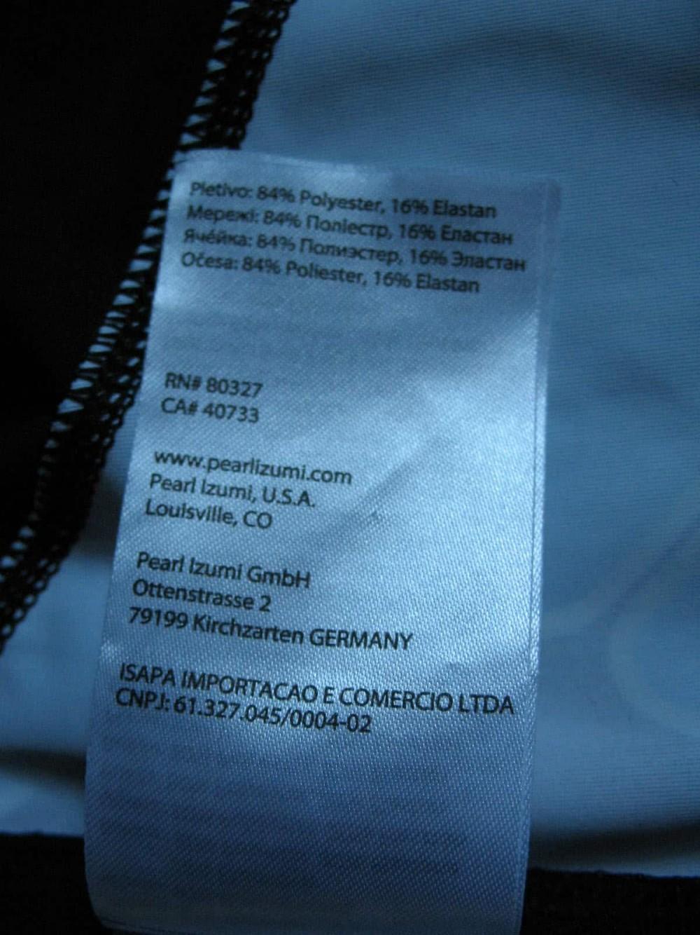 Веломайка PEARL IZUMI p.r.o. leader short sleeve jersey (размер L) - 12