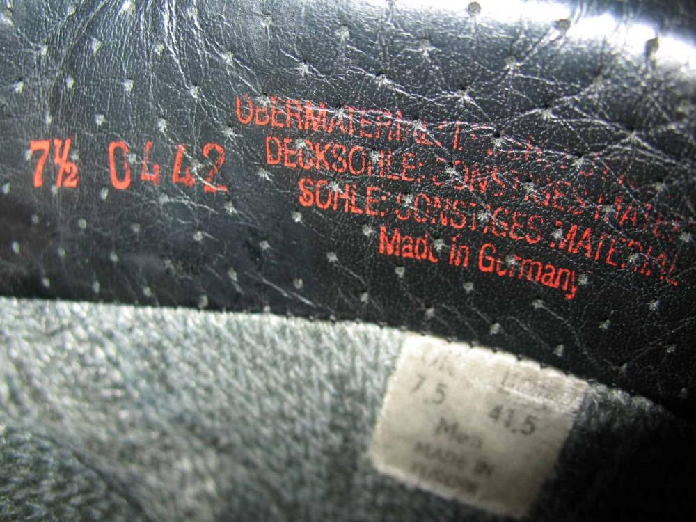 Ботинки HANWAG omega GTX boots (размер UK7,5/EU41,5(на стопу до 265mm)) - 10