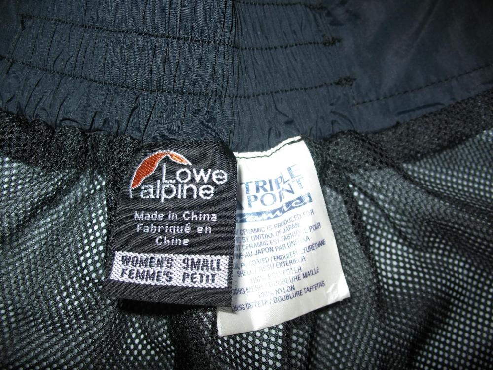 Штаны LOWE ALPINE pants lady/unisex (размер S) - 11