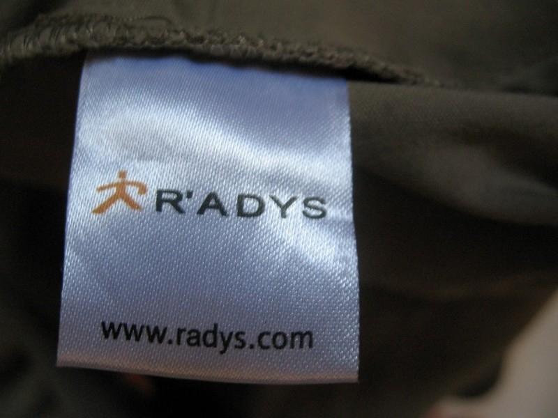 Штаны  R'ADYS [R'dry] pants 2in1 lady  (размер 38/M/L) - 10