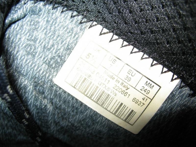 Ботинки LOWA Khumbu II GTX lady  (размер US 7/UK5, 5/EU39  (249mm)) - 9