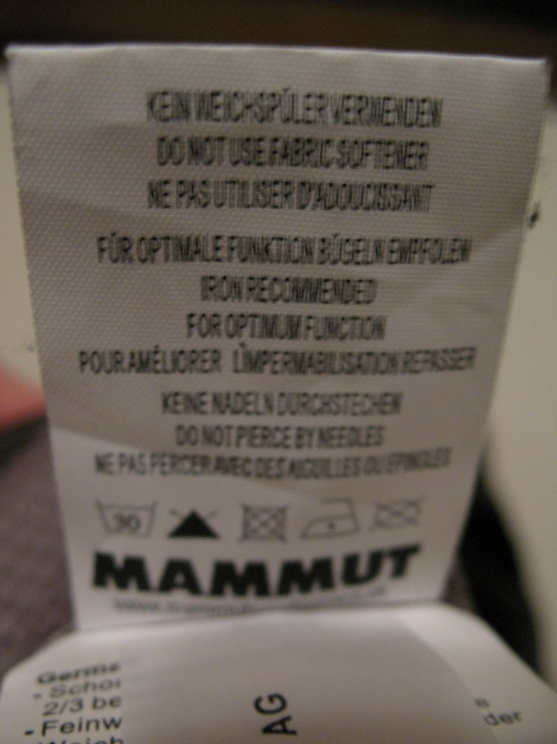 Штаны MAMMUT DRYtech alaska pants(размер 54/XL) - 13