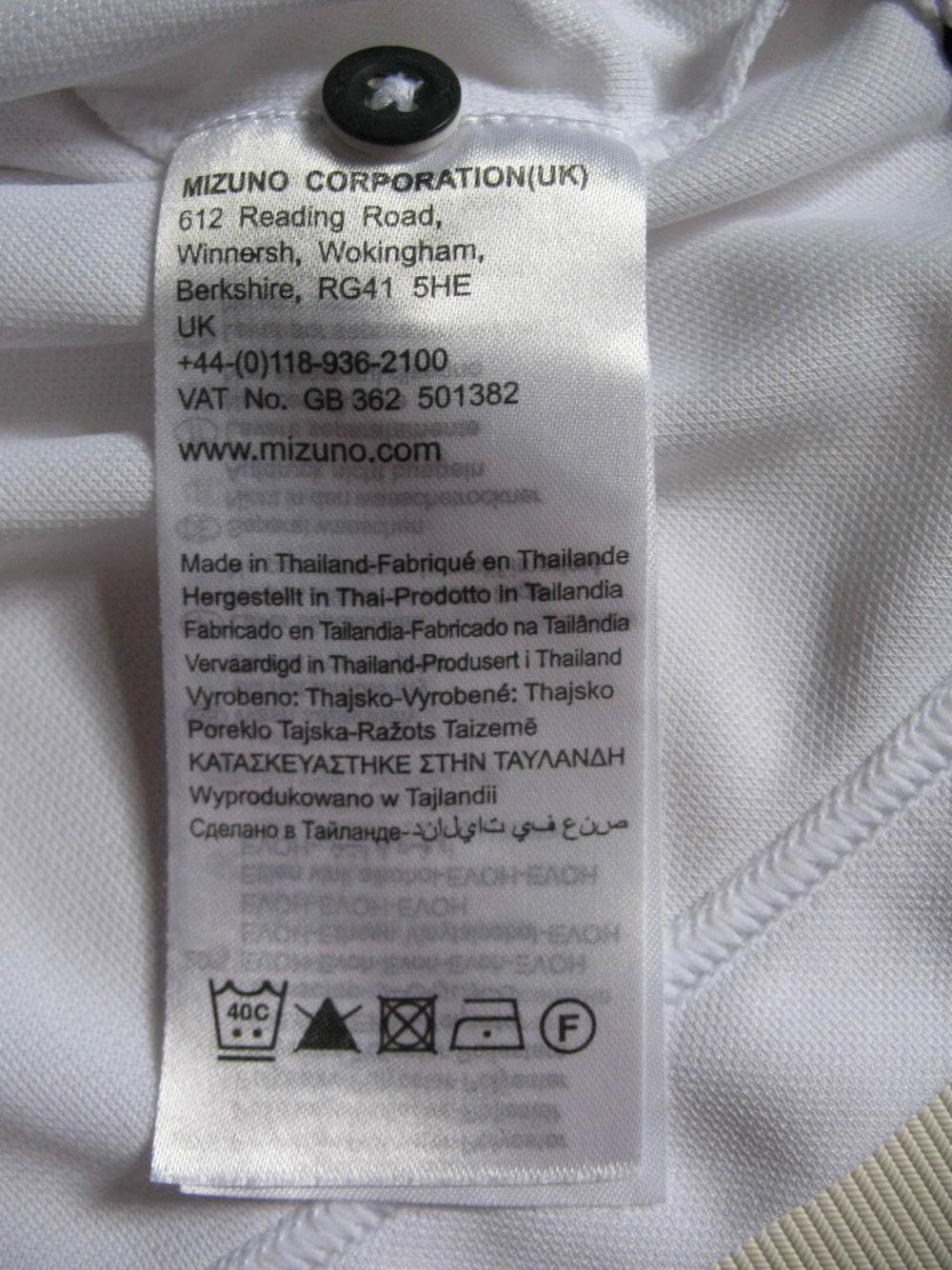 Футболка MIZUNO  Drylite Ice Touch Pique Golf Shirt (размер L) - 6