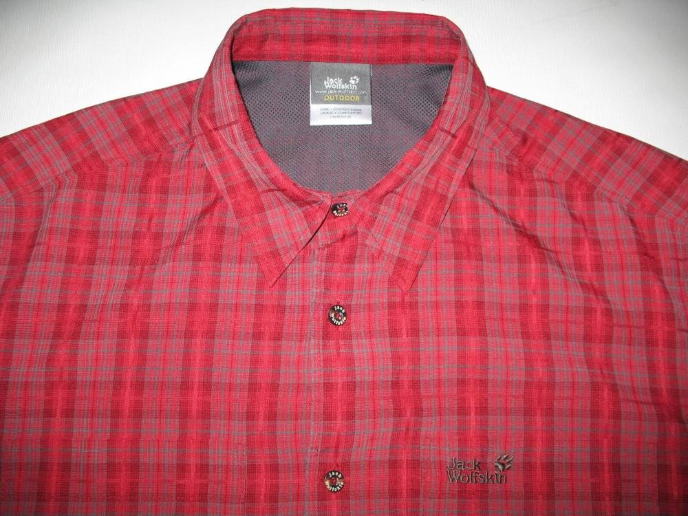 Рубашка JACK WOLFSKIN Diamond Bay Mosquito Shirt (размер 50/52-L/XL) - 4