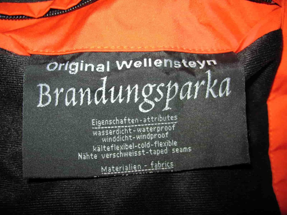 Куртка WELLENSTEYN brandungsparka jacket (размер S/M) - 16