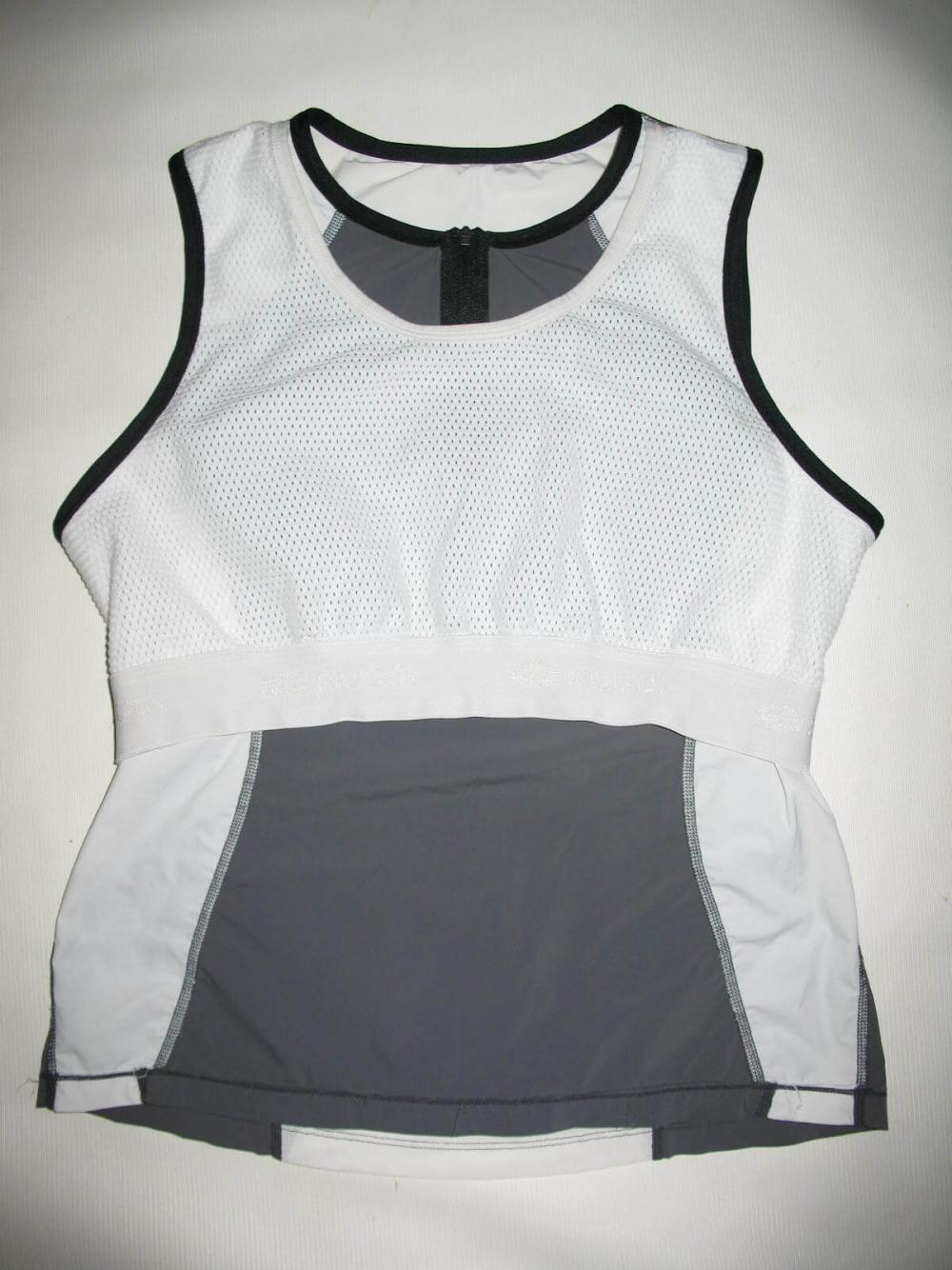 Веломайка SUGOI sleeveless triatlon jersey lady (размер L) - 5