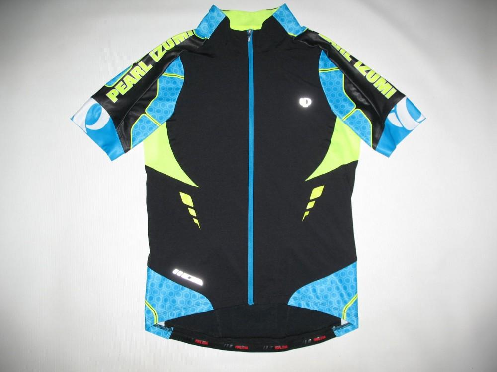 Веломайка PEARL IZUMI p.r.o. leader short sleeve jersey (размер L) - 3