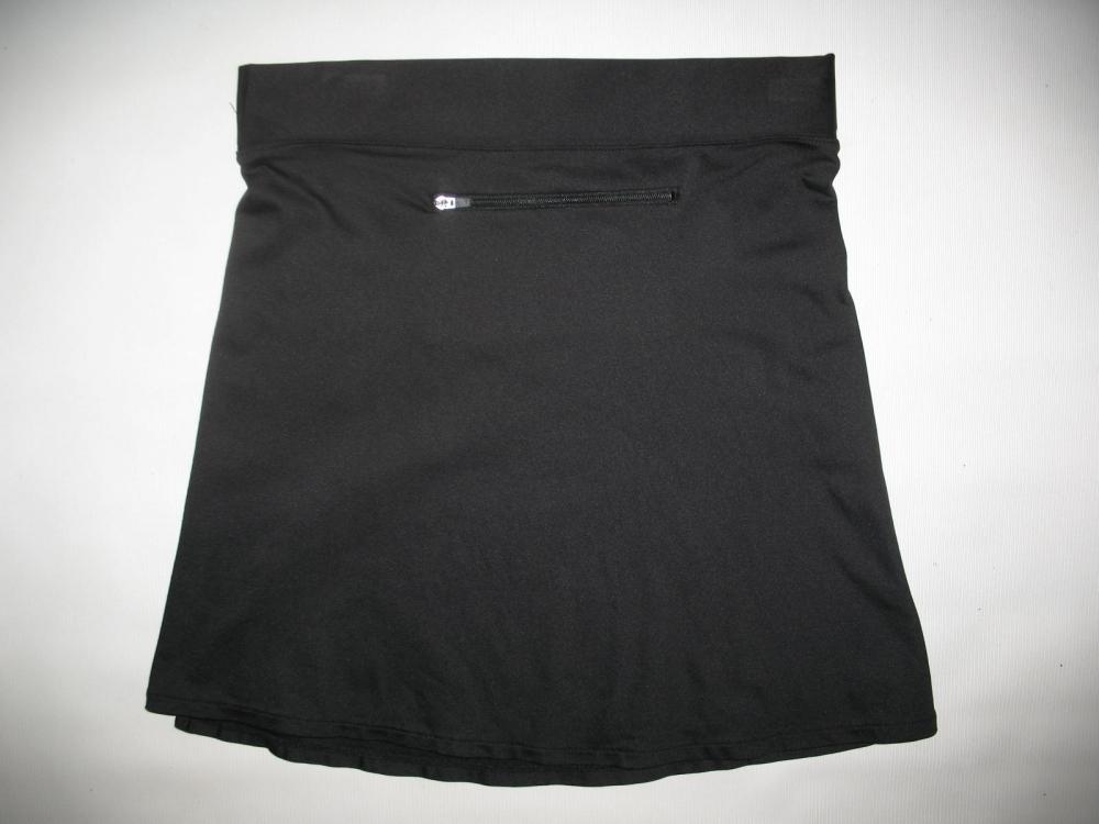 Велоюбка BTWIN black cycling skirt lady (размер S) - 2