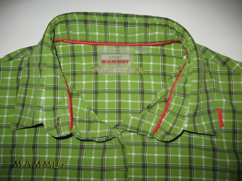 Рубашка MAMMUT shirts green lady  (размер S/M) - 3
