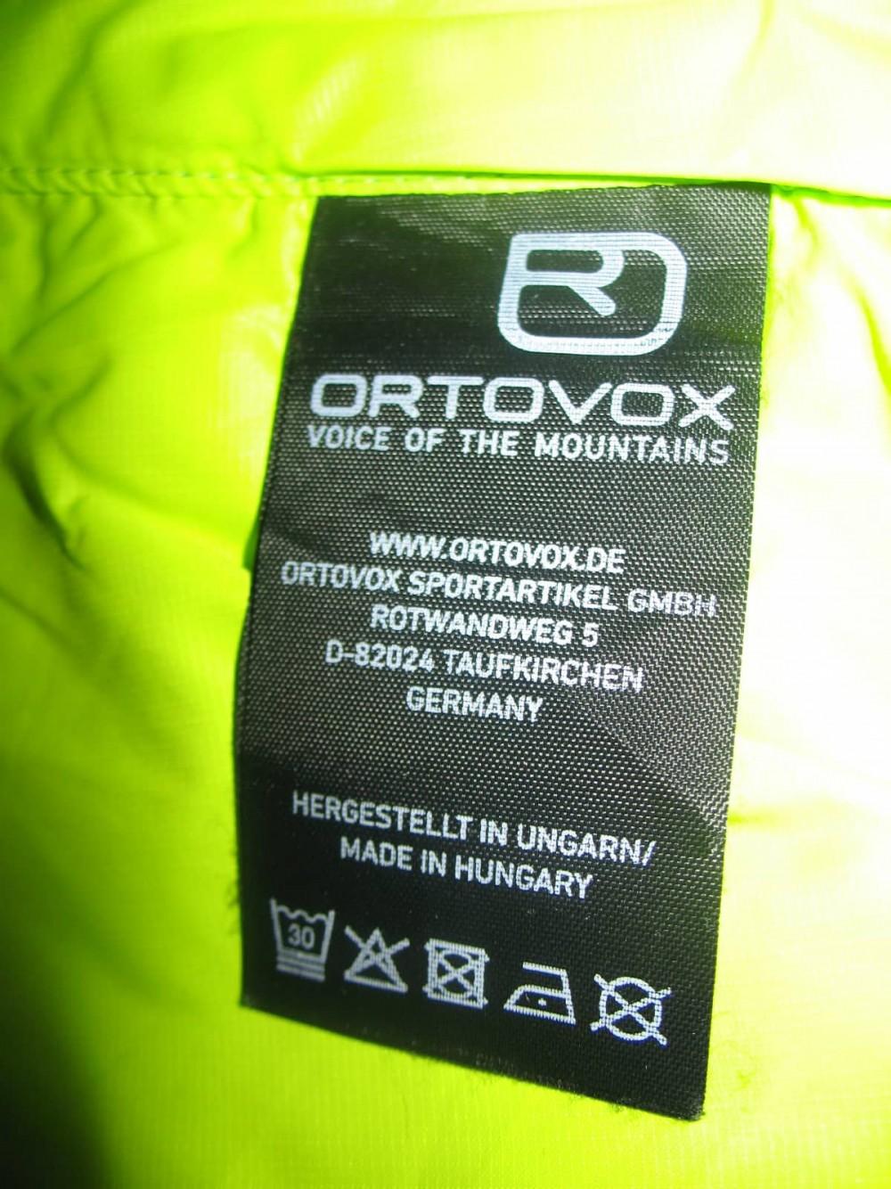 Куртка ORTOVOX swisswool piz boè jacket (размер M) - 8