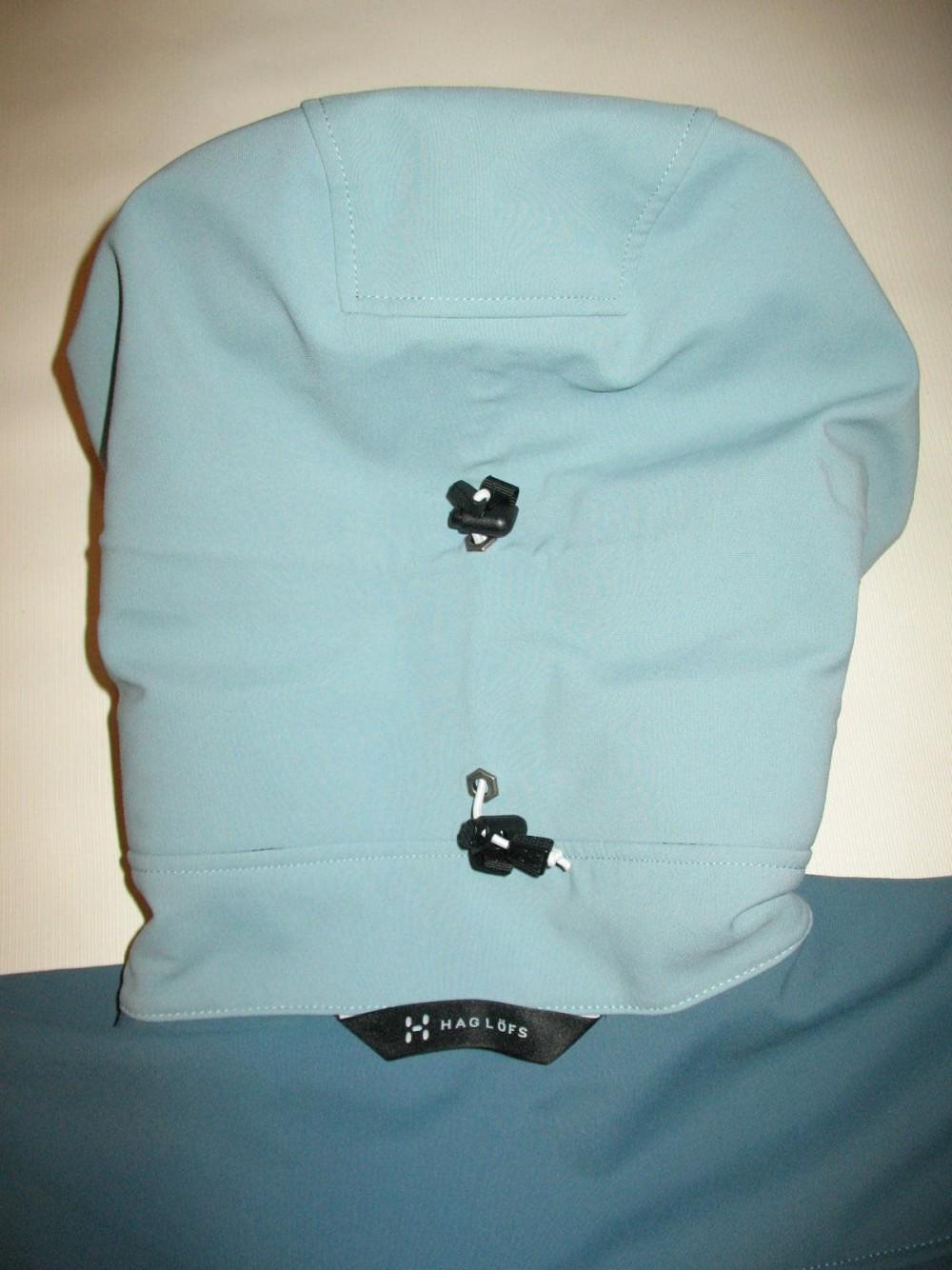 Куртка HAGLOFS jaw softshell jacket lady (размер M) - 12
