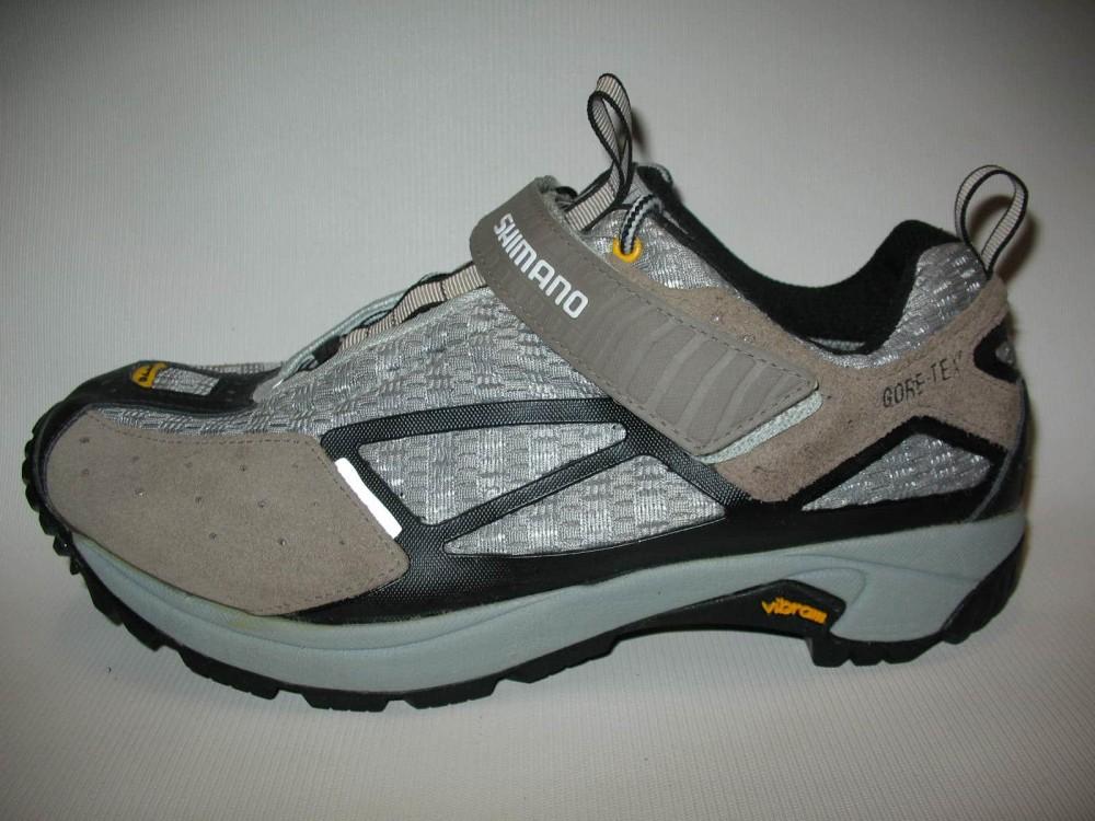 Велотуфли SHIMANO sh-mt70 GTX shoes (размер US10,5;EU45(на стопу до 285 mm)) - 2