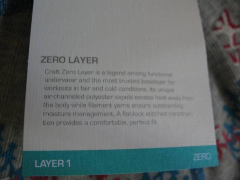Термобелье CRAFT Zero Full Crewneck lady (размер M) - 7