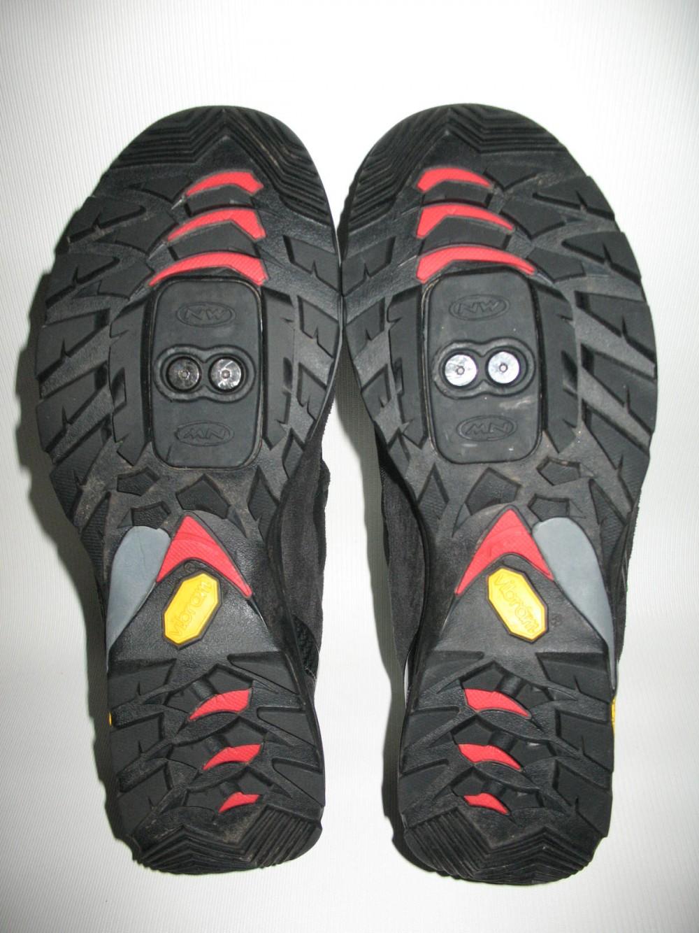 Велотуфли NORTHWAVE mission bike shoes (размер US9,5/UK8,5/EU42(на стопу до 270 mm)) - 10