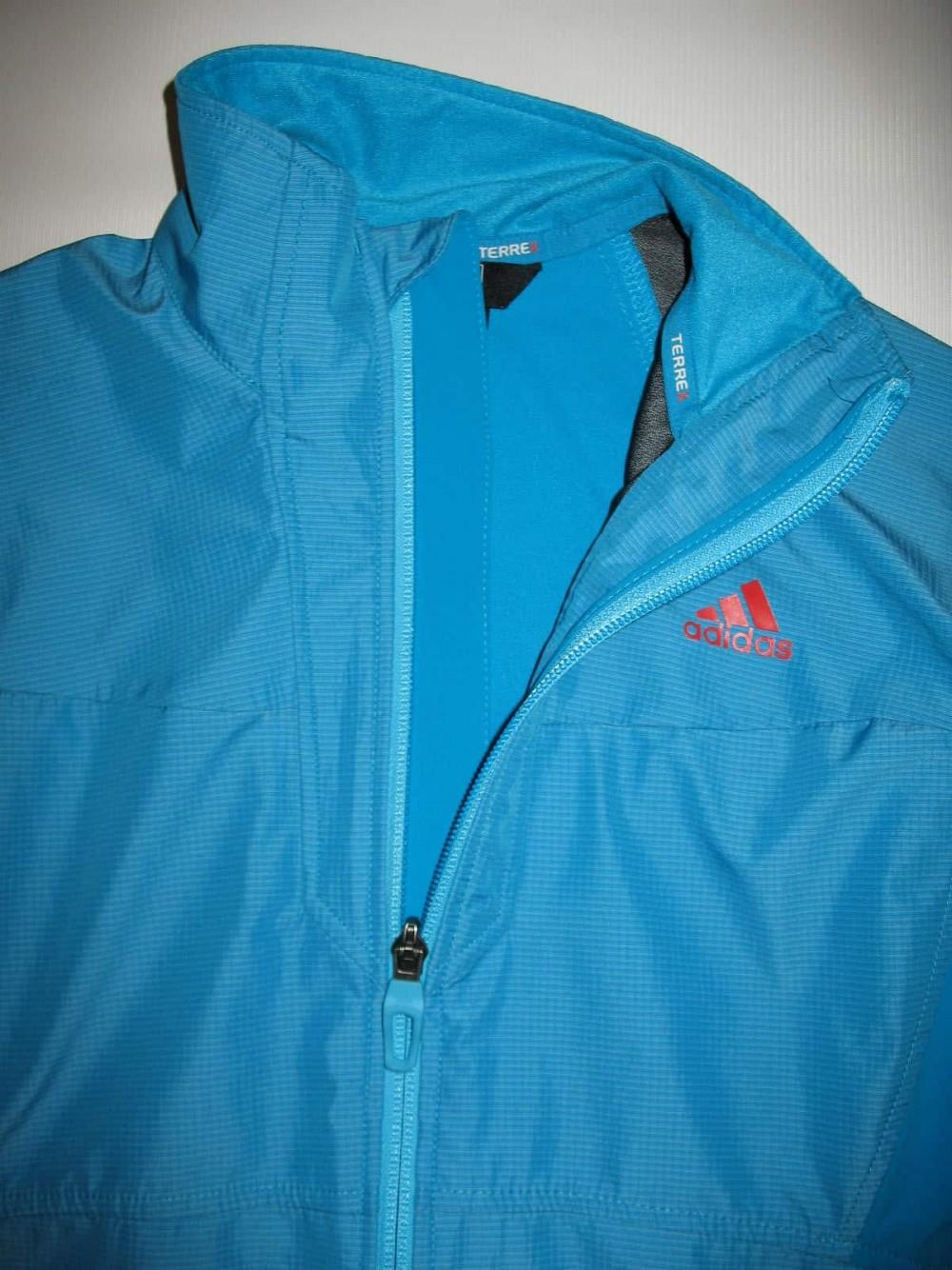 Куртка ADIDAS terrex hybrid windstopper jacket lady (размер 12-L/M) - 3