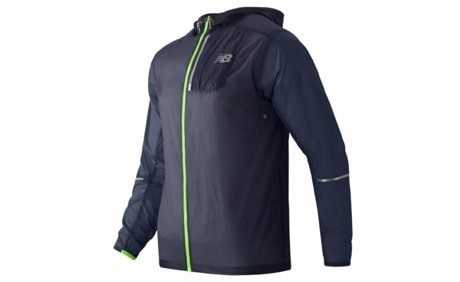 Куртка NEW BALANCE lite packable jacket (размер M/L) - 19034