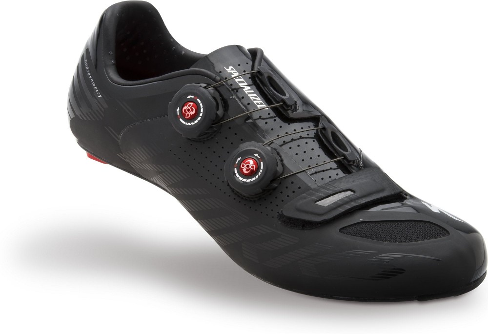 Велотуфли SPECIALIZED s-works road shoes (размер US11/UK10/EU44,5(на стопу до 286 mm)) - 19045