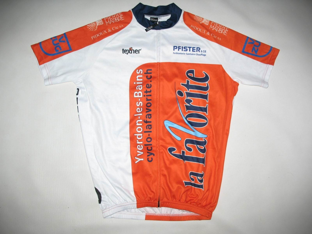 Веломайка TEXNER la favorite orange cycling jersey (размер M) - 18280