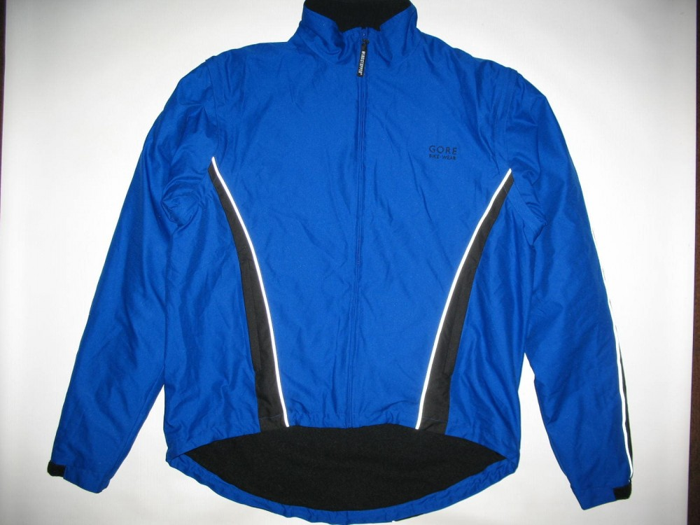 Велокуртка GORE bike wear 2in1 windstopper jacket (размер XL) - 18837