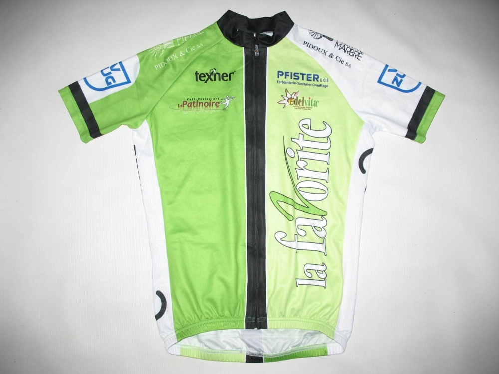 Веломайка TEXNER la favorite green cycling jersey (размер S) - 18279