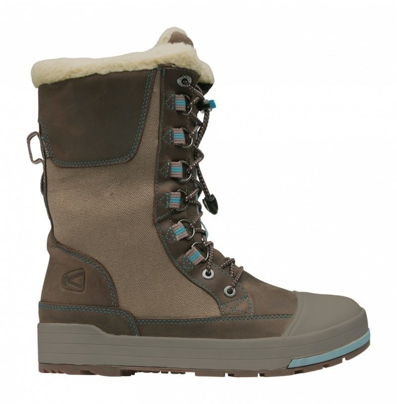 Сапоги KEEN snow rover lady (размер US8, 5/UK 6/EU39(250 mm)) - 17381