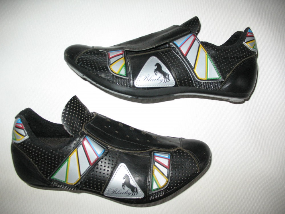 Велотуфли BLACKY cycling road shoes (размер EU41(на стопу до 250 mm)) - 18643