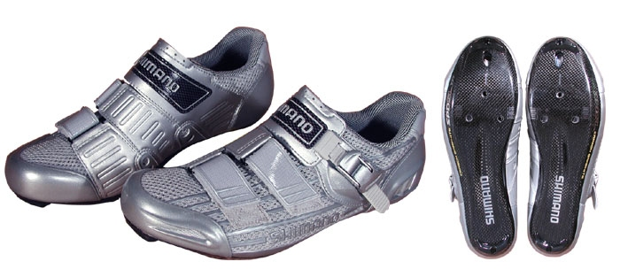 Велотуфли SHIMANO SH-R215 Road Shoes (размер US9/EU43(на стопу 272 mm)) - 18090
