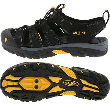 Велотуфли KEEN pedal commuter shoes (размер UK8,5/US9,5/EU42,5(на стопу до 275 mm)) - 18242