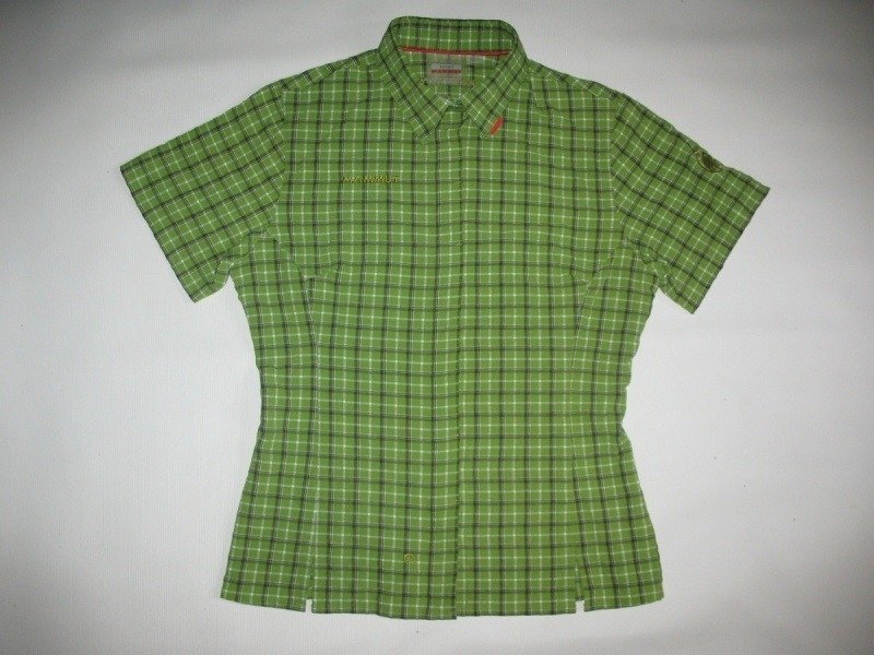 Рубашка MAMMUT shirts green lady  (размер S/M) - 17488