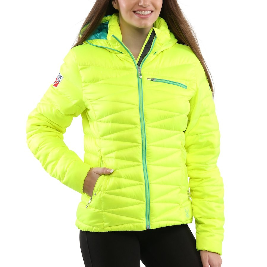 Куртка SPYDER timeless hoody down jacket lady (размер M) - 18754