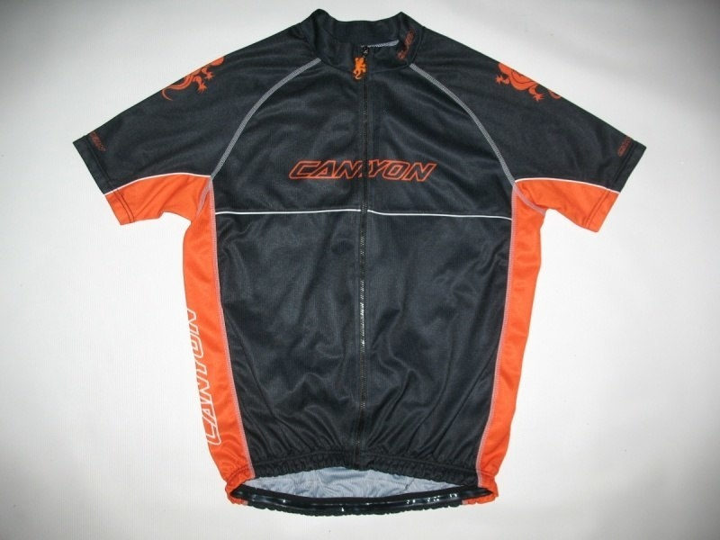 Футболка CANYON black jersey (размер L) - 17790