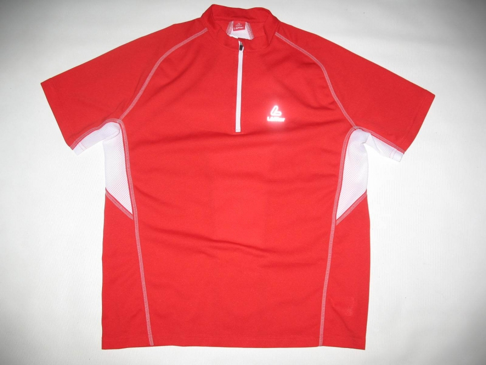 Футболка LOEFFLER running zip shirt (размер 50/М-L) - 18372