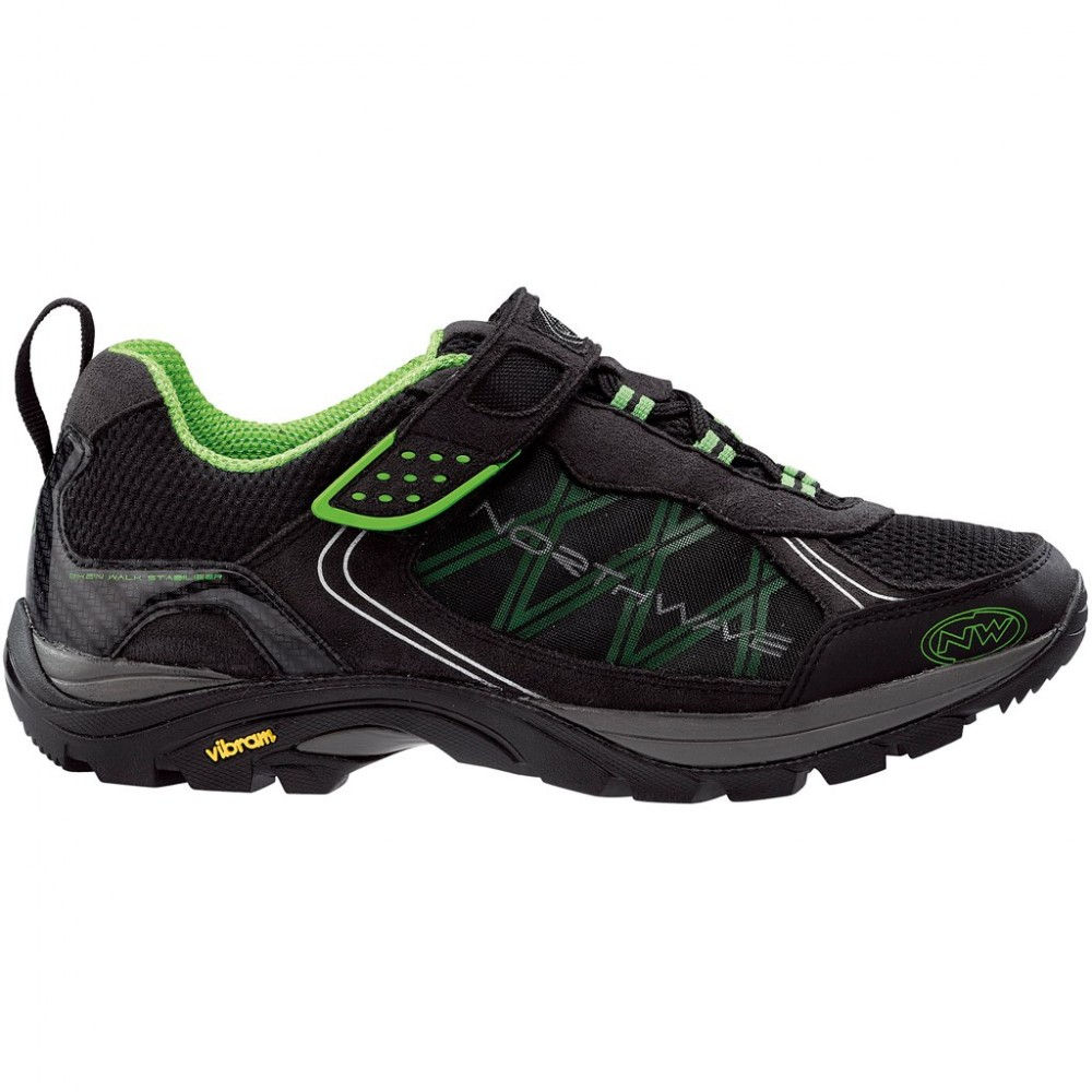 Велотуфли NORTHWAVE mission bike shoes (размер US9,5/UK8,5/EU42(на стопу до 270 mm)) - 18668