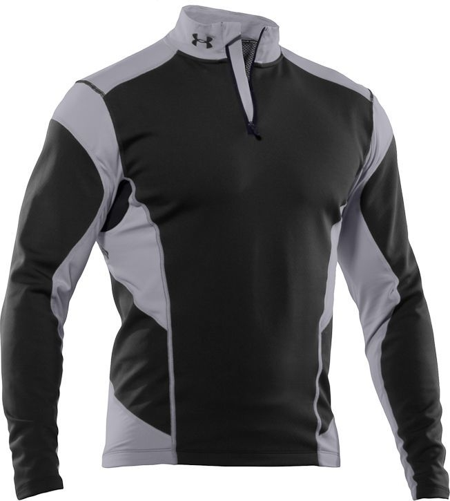UNDER ARMOUR CG Fitted Hybrid Wind-block 1/4 Zip  (размер XL) - 17355