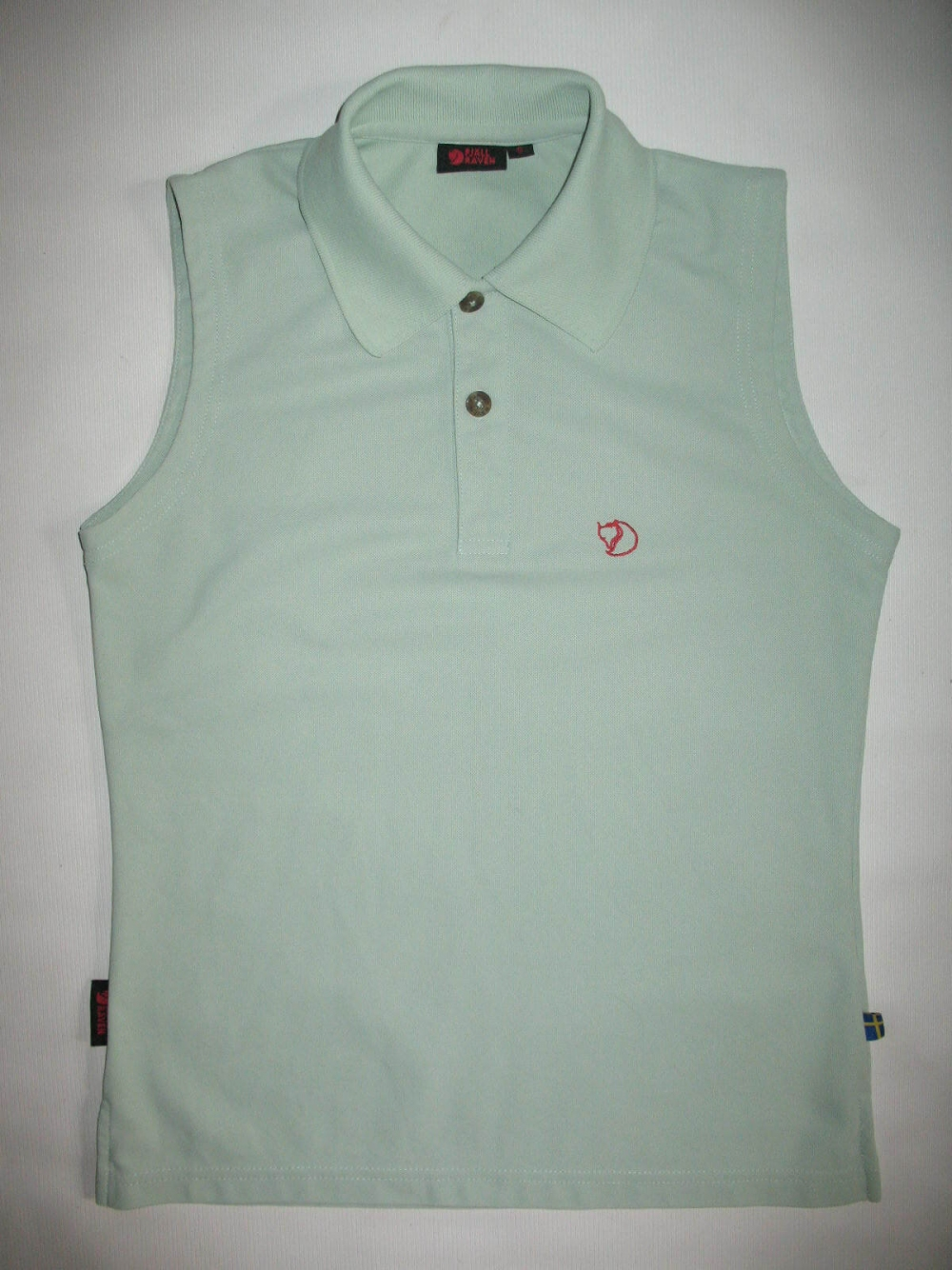 Футблка FJALLRAVEN sleeveless polo shirts lady (размер S) - 18352
