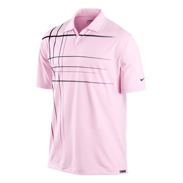 Футболка NIKE jetstream plaid polo (размер L/XL) - 17888