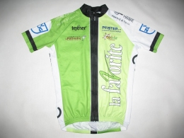 Веломайка TEXNER la favorite green cycling jersey (размер S)