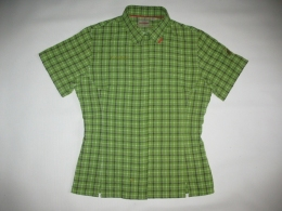 Рубашка MAMMUT shirts green lady  (размер S/M)