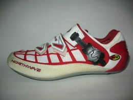 Велотуфли NORTHWAVE revenge road shoes (размер EU41(на стопу до 260 mm))