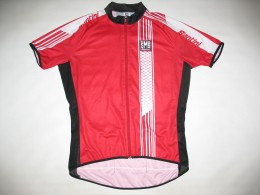 Веломайка SANTINI red cycling jersey (размер XL)