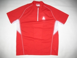 Футболка LOEFFLER running zip shirt (размер 50/М-L)